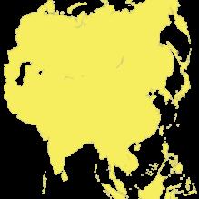 Pays d'Asie pour la demande de visa en ligne